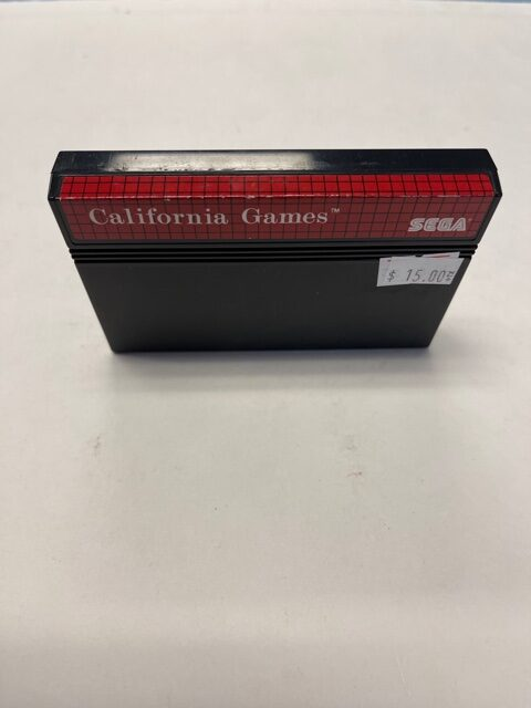 California Games Cartridge Sega Master System