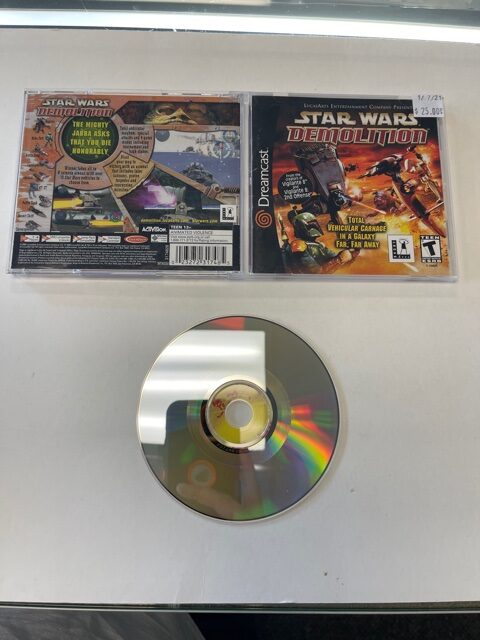 Star Wars Demolition CIB Sega Dreamcast