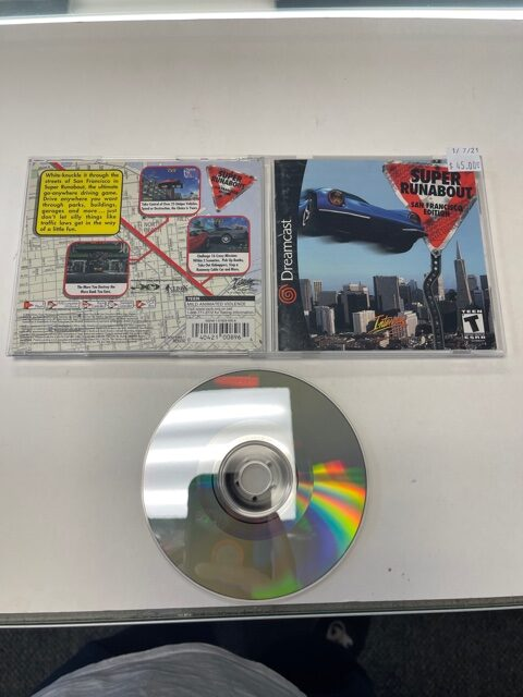 Super Runabout San Francisco Edition CIB Sega Dreamcast