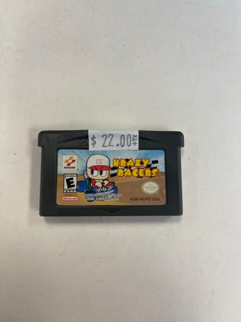 Krazy Racers Cartridge GBA