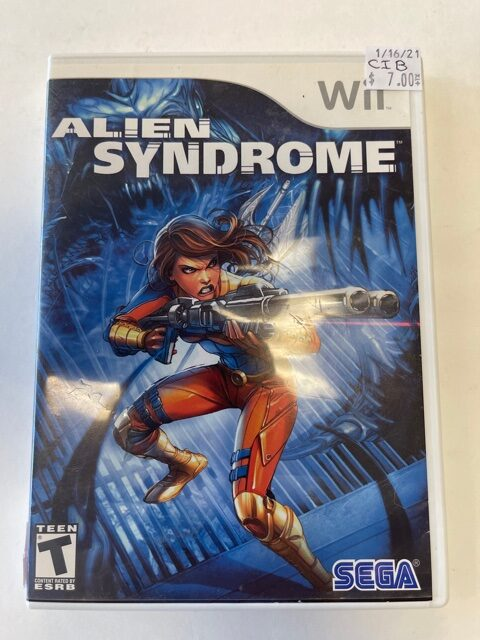 Alien Syndrome CIB Wii