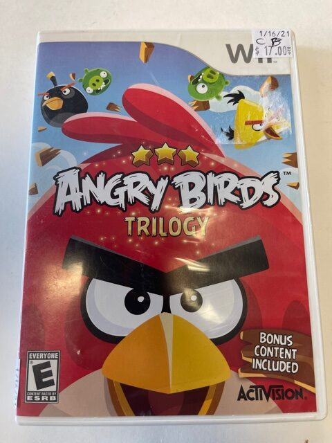 Angry Birds Trilogy CB Wii
