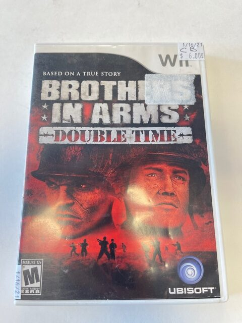Brothers In Arms Double Time CB Wii