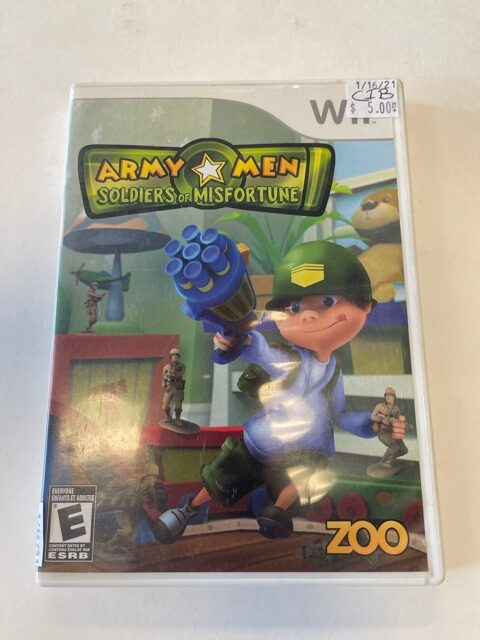 Army Men Soldiers Of Misfortune CIB Wii