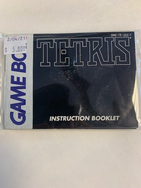 Tetris GB Manual