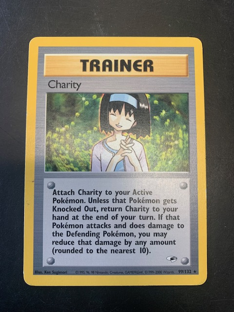 Charity Trainer 99/132 Rare