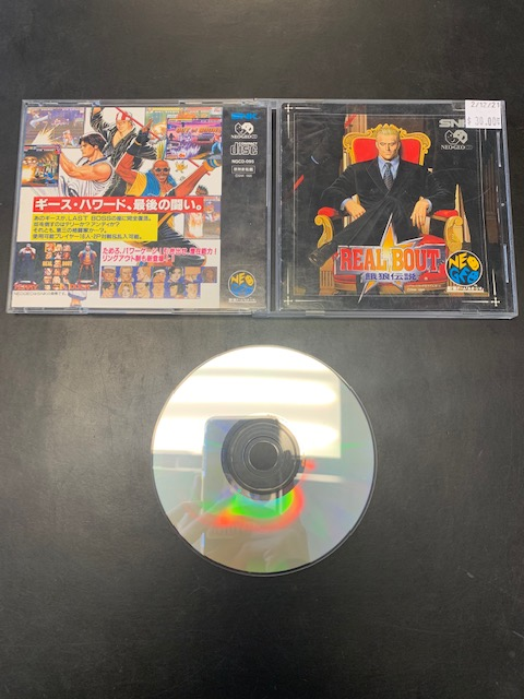 Real Bout NEO GEO CD