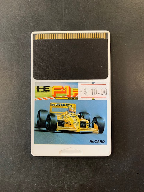 F-1 Pilot HE PC Engine HuCard Only