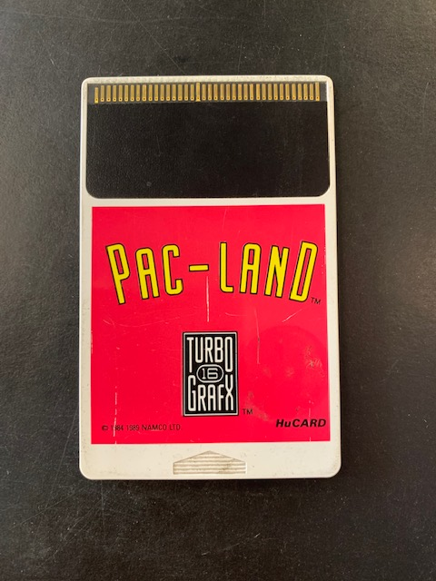 Pac-Land Turbo Grafx 16 HuCard Only