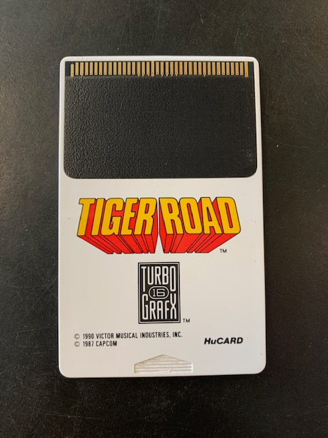 Tiger Road Turbo Grafx 16 HuCard Only
