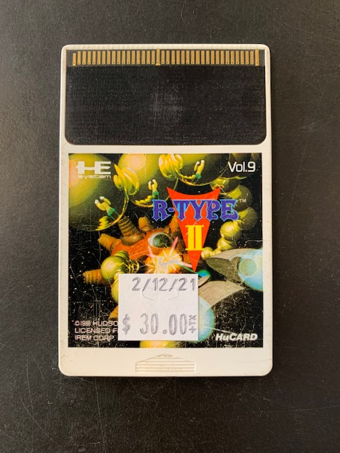 R-Type 2 HE PC Engine HuCard Only
