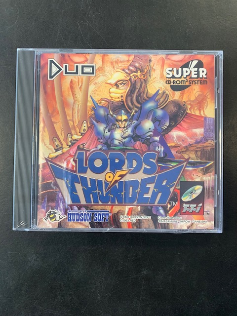 Lord Of Thunder Sealed Turbo Grafx 16