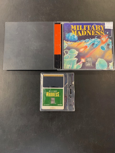 Military Madness Turbo Grafx 16