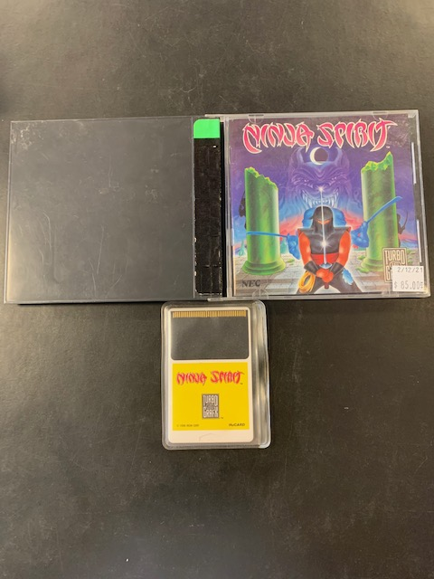Ninja Spirit Turbo Grafx 16