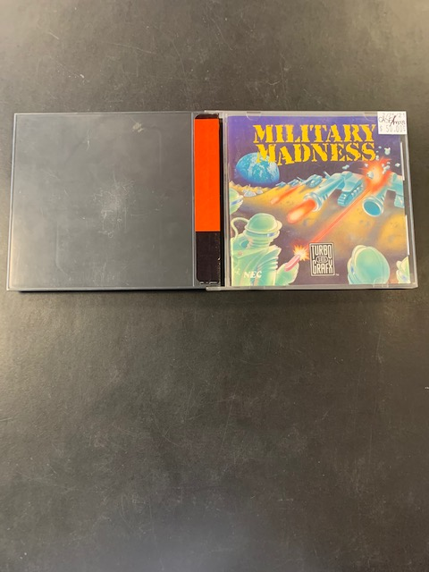 Military Madness Turbo Grafx 16 Case & Manual Only