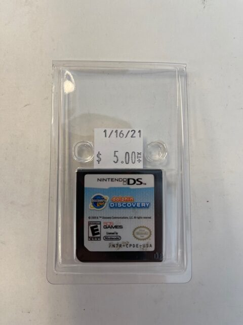 Dolphin Discovery Cartridge DS