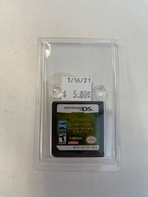 Pirates Of The Caribbean Dead Man's Chest Cartridge DS