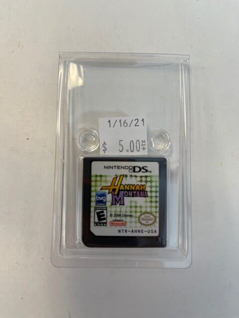 Hannah Montana Cartridge DS