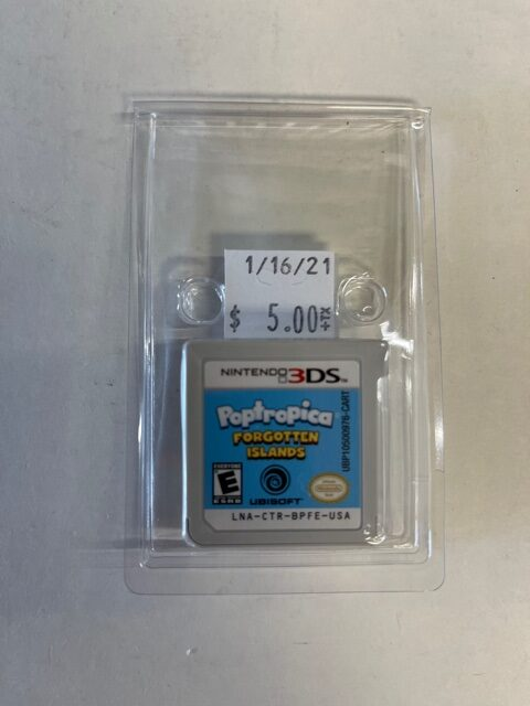Poptropica Forgotten Islands Cartridge 3DS