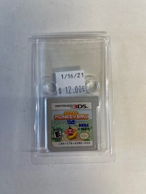 Monkey Ball 3D Cartridge 3DS
