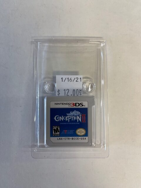 Conception II Cartridge 3DS