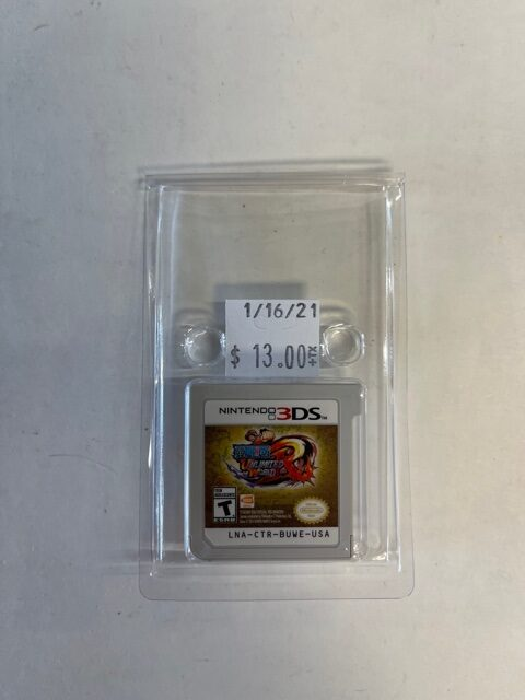 One Piece Unlimited World Cartridge 3DS
