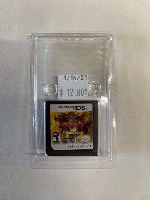 Hero's Saga Laevatein Cartridge DS