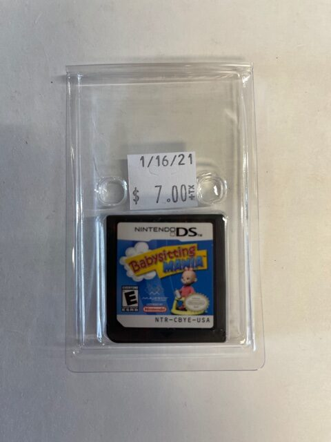 Baby Sitting Mania Cartridge DS