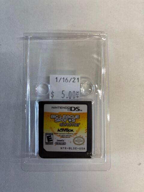 Big League Sports Summer Cartridge DS