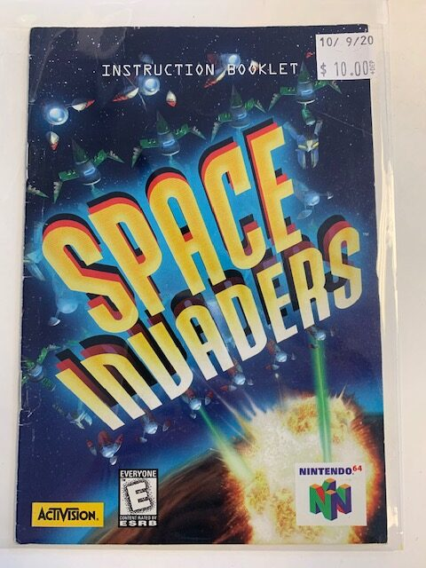 Space Invaders N64 Manual