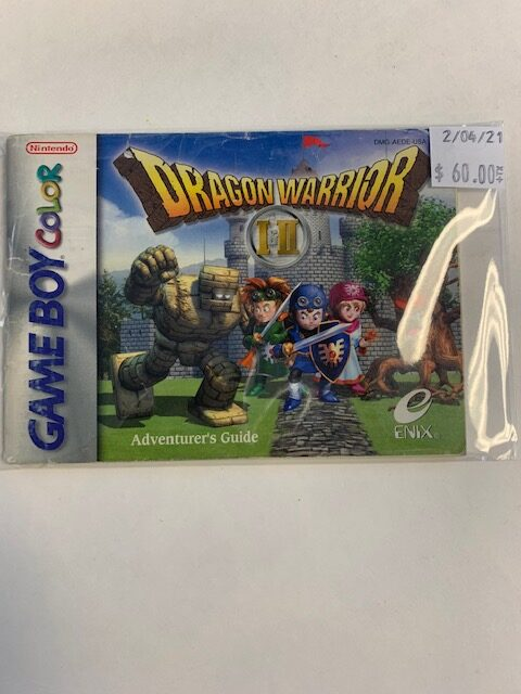 Dragon Warrior I And II GBC Manual