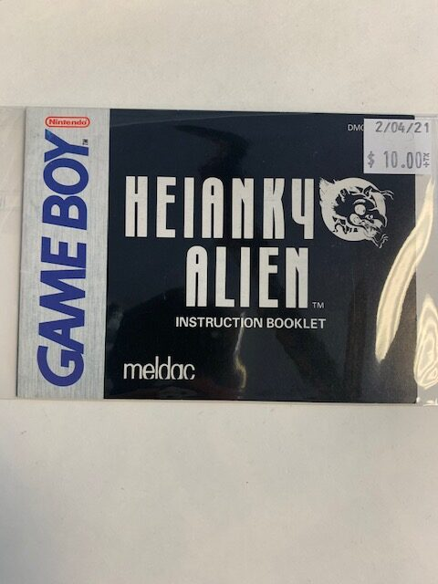 Heianky Alien GB Manual