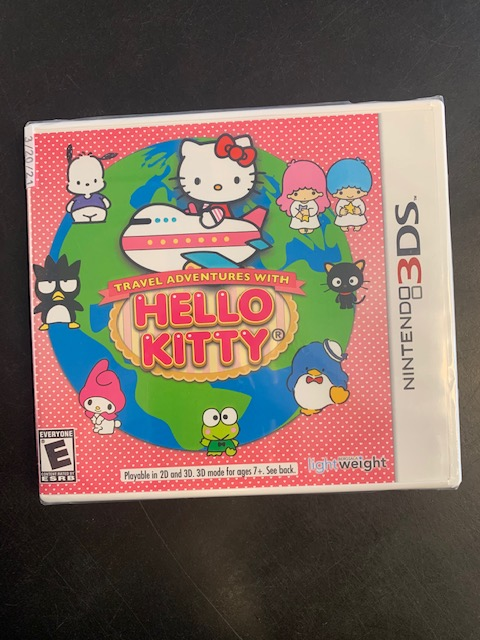 Travel Adventures With Hello Kitty Nintendo 3DS Sealed