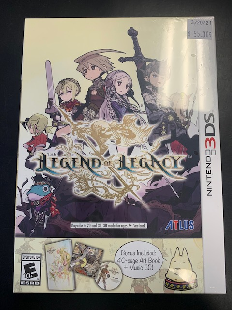 The Legend Of Legacy Nintendo 3DS Sealed