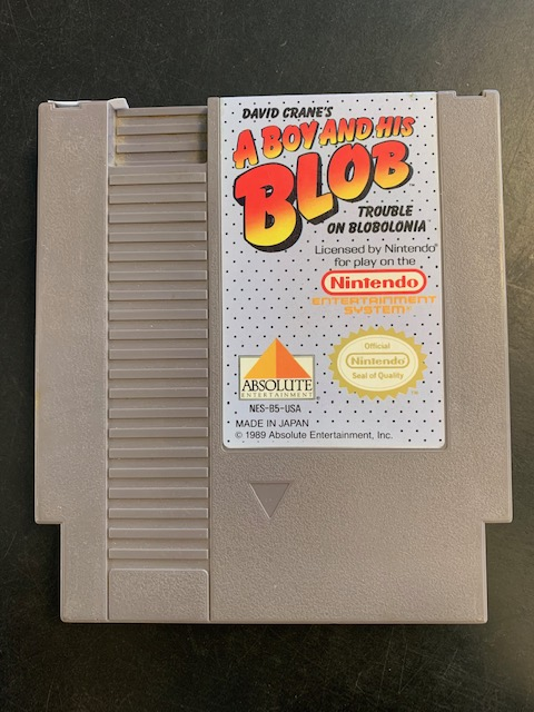 A Boy And His Blob Trouble On Blobolonia NES