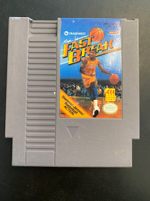 Magic Johnson's Fast Break NES