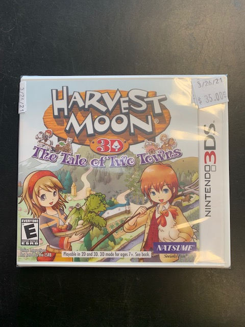 Harvest Moon 3D: The Tale Of Two Towns Nintendo 3DS