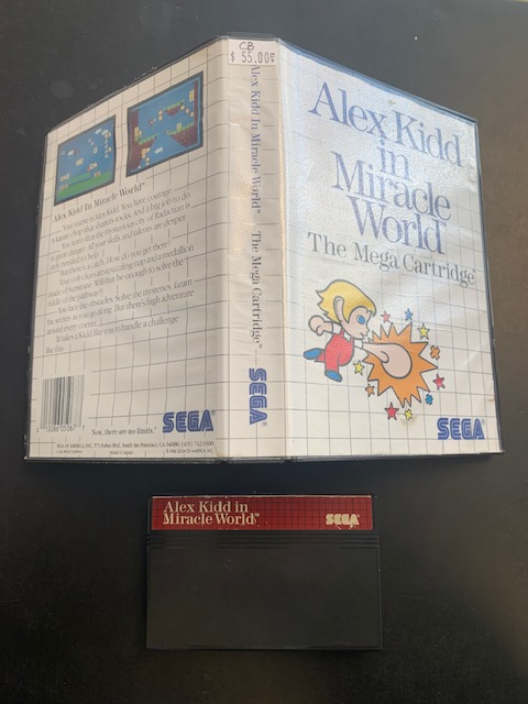 Alex Kidd In Miracle World SMS CB