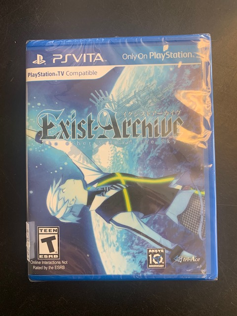 Exist Archive The Other Side Of The Sky PS Vita Brand New Sealed