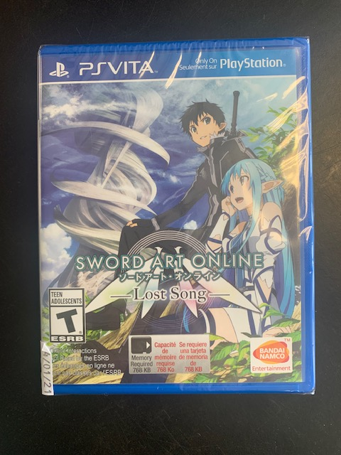 Sword Art Online: Lost Song PS Vita Brand New Sealed