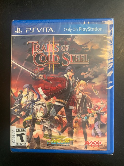 The Legend Of Heroes: Trails Of Cold Steel 2 PS Vita Brand New Sealed