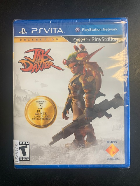 Jak & Daxter Collection PS Vita Brand New Sealed