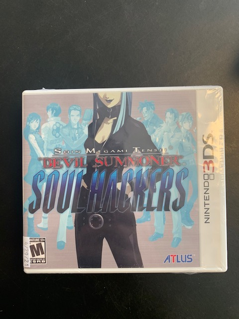 Shin Megami Tensei Devil Summoner Soul Hackers Nintendo 3DS Sealed
