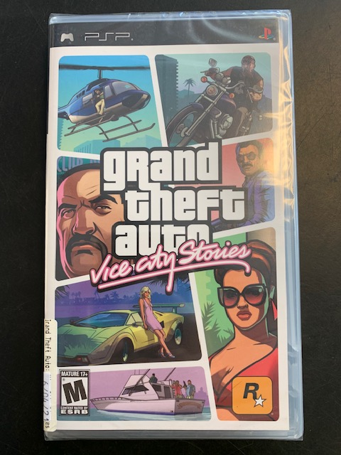 Grand Theft Auto Vice City Stories PSP Sealed